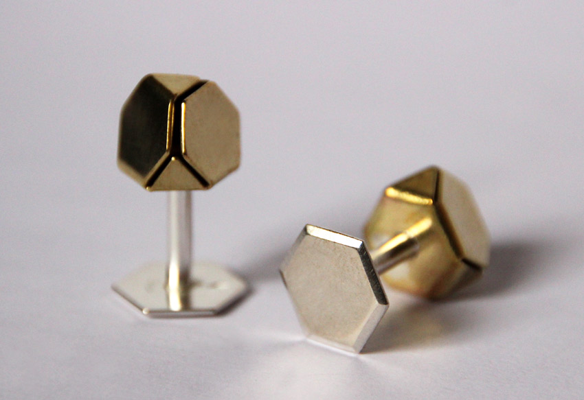 Boutons de manchette Origamis - Emilie Losch