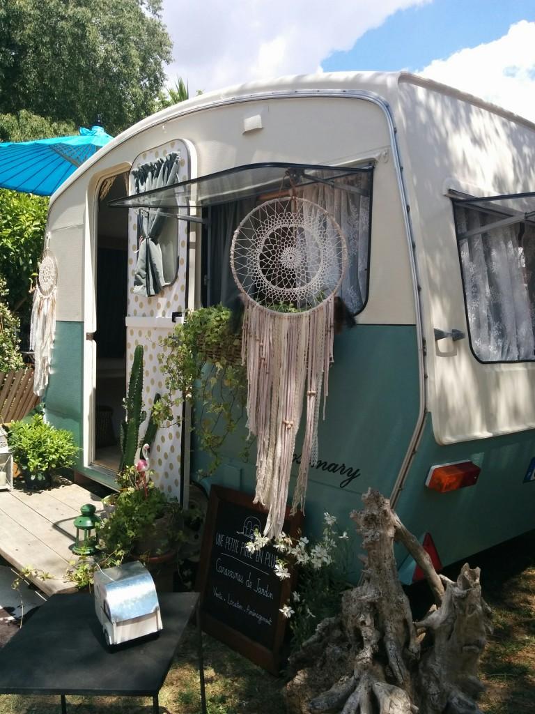 Caravane de jardin : Une petite pièce en plus