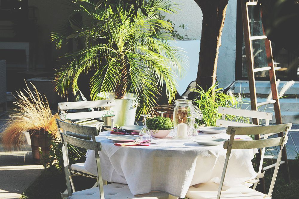 Joséphine en Ville - Chambres d'hôtes à Montpellier - Le jardin
