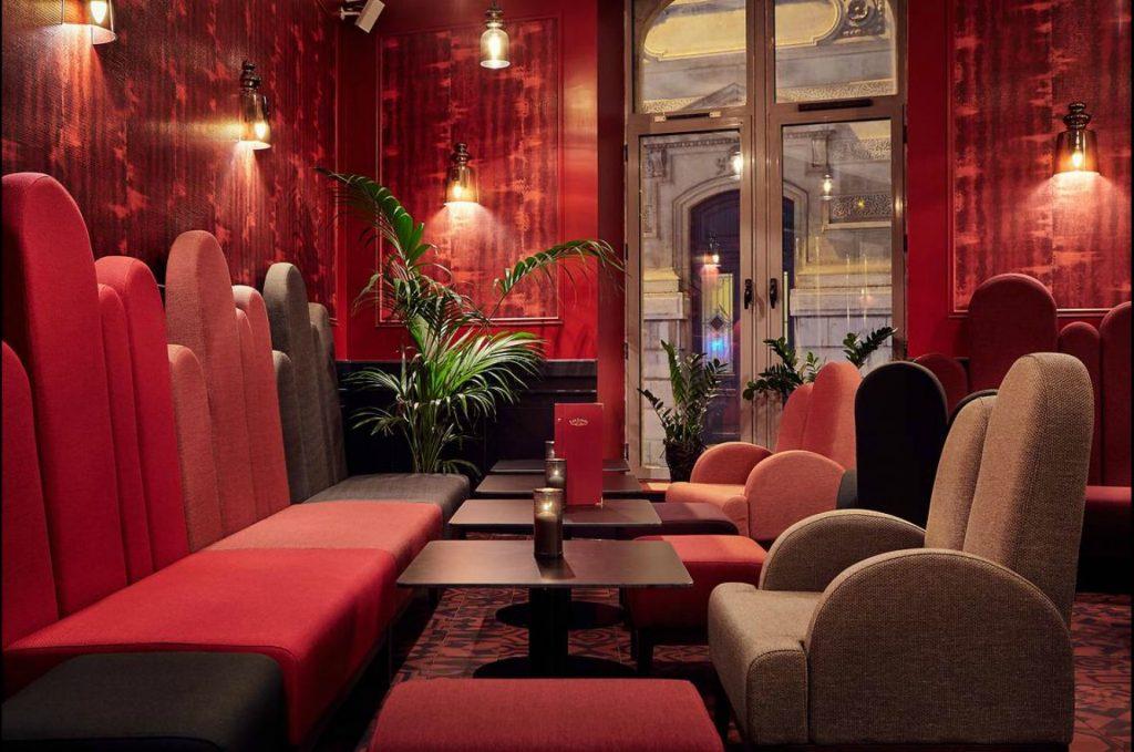 Le bar du Grand Hôtel du Midi